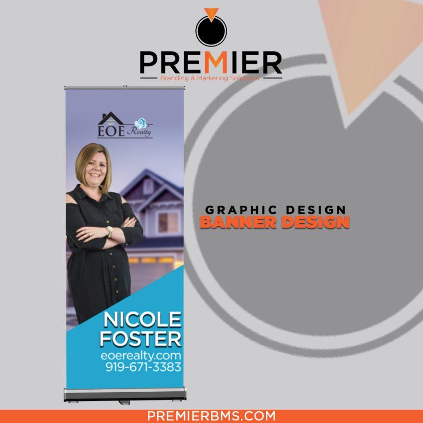 Pop Up Banner - Premier Branding & Marketing Solutions